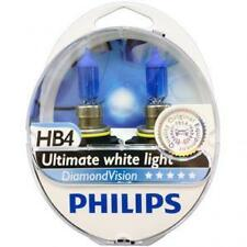 HB4 9006 PHILIPS Diamond Vision 5000K Ultimate White Light Bulbs Headlamp