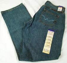 Wrangler Q-BABY Apache Storm Mid Rise Stretch Boot Cut Womens Jeans 13/14 x 34