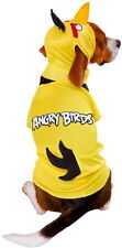 YELLOW ANGRY BIRD DOG HALLOWEEN COSTUME - SIZE LARGE