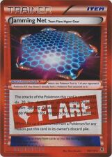 4 x Jamming Net - 98/119 - Rare Holo Pokemon XY - Phantom Forces