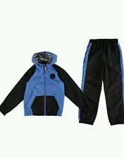 Converse Boys 2 Piece Tracksuit Black/blue 5-6years