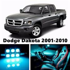 11pcs LED ICE Blue Light Interior Package Kit for Dodge Dakota 2001-2010