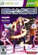 XBOX 360 KINECT DANCE MASTERS BRAND NEW VIDEO GAME WIDE VARIETY OF DANCE MUSIC