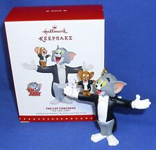 Hallmark Tom and Jerry Ornament The Cat Concerto 2015 Mouse Conducts Concert