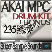 AKAI MPC DRUM KIT IN VINILE Beats mpc60 SP1200 mv8800 MPC 2.500 5.000 1000 CAMPIONI