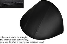 BLACK STITCHING FITS MG MGF MG TF 1995-2005 DASH COWL HOOD SKIN COVER ONLY