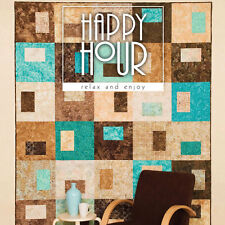 HAPPY HOUR Easy Quilt Patterns ATKINSON Design NEW BOOK Tote Table Runner Pillow