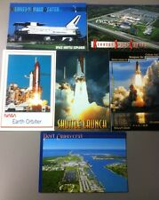 NASA Postcards Lot of 6 Space Post Cards Port Canaveral