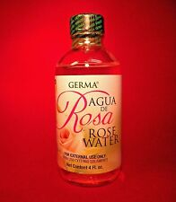 Rose Water Skin and Facial Cleanser Agua de Rosas Limpiadora de Cara 4 fl.oz.