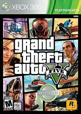 Grand Theft Auto V GTA 5 Xbox 360 Standard Edition Sealed NEW Video Game 2 Disc