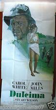 """DULCIMA {CAROL WHITE} - 3sht Org 41""""x81""""  Movie Poster 1970s"""
