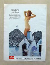 D721-Advertising Pubblicità- 1981 - TRIUMPH IL TOP -SLIP LORETTA