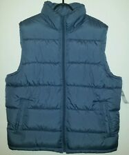 Men's Gap Body Warmer Gilet  BNWT  Size L   Baltic Blue  RRP £39.99