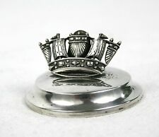 Vintage Sterling Silver Menu Holder Ship London 1923 15 g Dudley & Cox Southsea