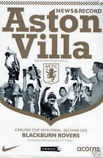 2010 CARLING CUP SEMI-FINAL - ASTON VILLA v BLACKBURN