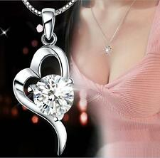 New products 925 silver Cordate necklace women fashion Quality jewelry Fine gift