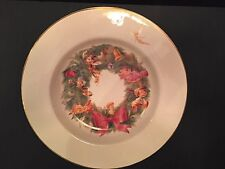 RARE DISNEY DIRECT CHINA CHRISTMAS SERVING BOWL RETIRED