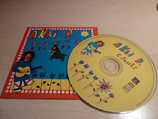 RARE PROMO CD MANU CHAO AKLI D. C.FACILE-AUDIO+VIDEO