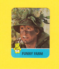 Funny Farm Chevy Chase 1980s Hot Summer Flicks Hostess Potato Chip Mini Sticker