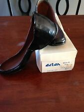 NEW VTG MEN'S ACTON HOLDS-ON DICK BLACK RUBBER OVERSHOES 10