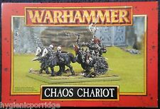 1997 GUERRIERO del Caos CARRO Games Workshop WARHAMMER Esercito malvagio cavaliere FIGHTER Nuovo di zecca con scatola