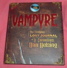 2007 1st Ed VAMPYRE Vampire Journals of DR CORNELIUS VAN HELSING Gustav de Wolff