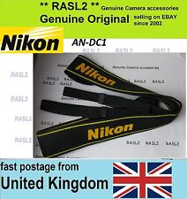 New Genuine Original Nikon Neck Shoulder Strap D300s D600 D800E D3100 D3200 D4S