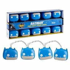 FUNKO POP HOME DC BATMAN PARTY STRING LIGHTS NEW IN BOX #sw-1874