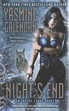 Yasmine Galenorn  Night's End   An Indigo Court Novel Paranormal Romance Pbk NEW