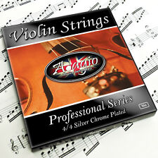 ADAGIO - Professional Electric And Acoustic Violin Strings Set RRP £10.99!