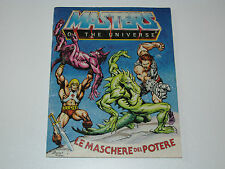 MOTU HE-MAN MASTERS OF THE UNIVERSE MINI COMIC 1983 MASKS OF POWER - DE IT