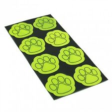 Reflective High Visibility Paw Safety Stickers Bikes & Cycling Hi-Viz