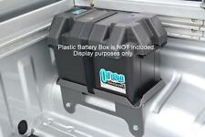 Dual Battery Tray ONLY Less BOX For Nissan Navara D40 STX Dual Cab (OPTION 3)