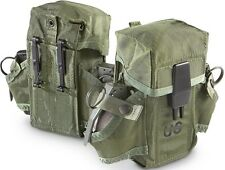 1 USED Good Cond GENUINE M-16 Triple Magazine Clip Ammo Pouch Military M16 Pouch