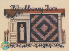 Cross Stitch Chart / Pattern ~ Told In A Garden Amish Woman Blackberry Jam #TG33