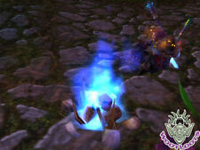 Grim Campfire Loot Card World of Warcraft Blue Purple Skull Fire WoW TCG Toy Box