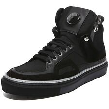 BRAND NEW! WOW! VERSACE COLLECTION MENS BLACK SNEAKERS! SIZE 9!! NR