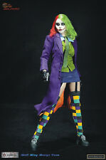 WOLFKING Female Joker 1/6 Action Figure