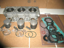 NEW POLARIS INDY SNOWMOBILE 600 XLT XCR CYLINDER ENGINE MOTOR PISTONS TRIPLE