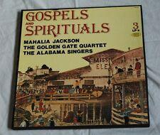 LP-Box 3 LPs Gospel & Spirituals Vinyl Langspielplatte von 1983