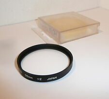 HOYA 55mm CLOSE-UP + 1  FILTER , ORIGINAL CASE & CLEAN  (0090)