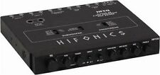 Maxxsonics HFEQ Equalizer/crossover Hifonics 1/2 Din; 4band Eq; 2-way Xover