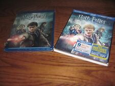 Harry Potter and the Deathly Hallows: Part II (Blu-ray/DVD/Digital HD) New