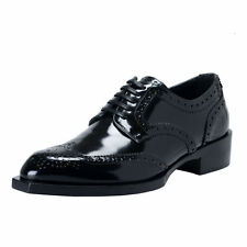 Dolce & Gabbana Men's Polished Leather Wing Tip Shoes US 7 IT 40