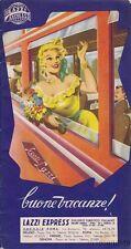§ LAZZI EXPRESS - Fascicoletto pubblicitario con programi e proposte 1954