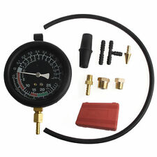 Fuel Pump Vacuum Tester Gauge Leak Carburetor Pressure Diagnostics W/ Case