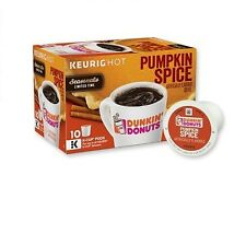 Dunkin Donuts Pumpkin Spice Seasonals K-Cup Pods 10-0.37 oz (Pack of 2)
