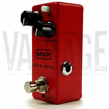 New! Dunlop MXR M291 Dyna Comp Mini Compressor Guitar Effect Pedal