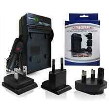 WORLD BATTERY CHARGER FOR SONY CYBERSHOT DSC-W110, DSC-W120 DIGITAL CAMERA -NEW-