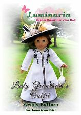 "PATTERN Titanic, Downton Abbey, Dress, Outfit, Clothes for 18"" American Girl"